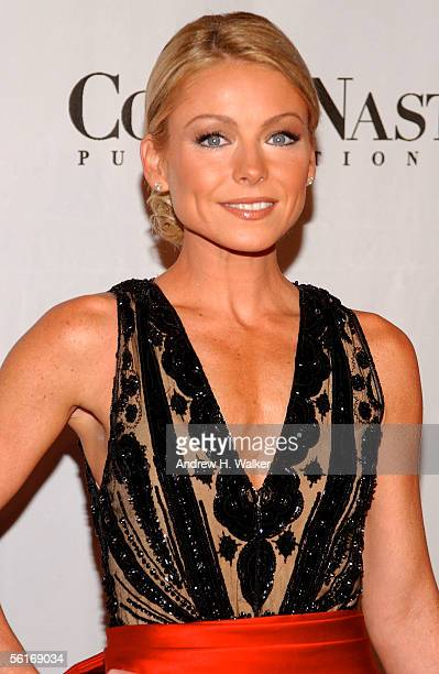 Kelly Ripa attends the Angel Ball 2005 on November 14 2005 in New York City