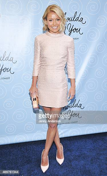 Kelly Ripa attends the Broadway opening night of 'It Shoulda Been You' at Brooks Atkinson Theatre on April 14 2015 in New York City