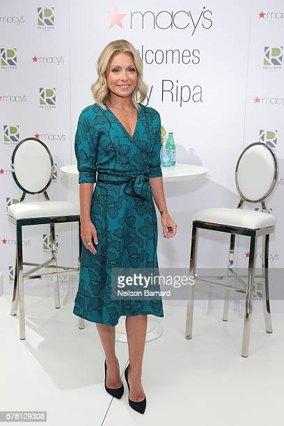 Kelly Ripa attends the Kelly Ripa Home Collection for Macy's launch at Macy's Herald Square on July 20 2016 in New York City