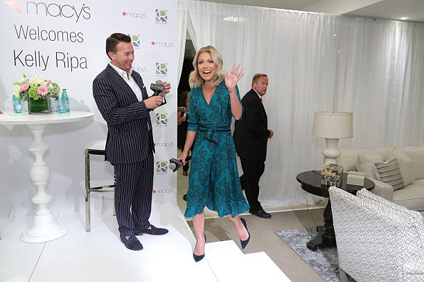 Kelly Ripa Home Collection For Macy's Launch Photos and Images ... on jessica simpson home, olivia munn home, michelle rodriguez home, barbara walters in the hamptons home, kyle richards home, chelsea handler home, betty white home, denise richards home, grace kelly home, mila kunis home, anna nicole home, sandra bullock home, madonna home, jessica alba home, ripa's new home, leonardo dicaprio home, johnny depp home, kaley cuoco home, jessica biel home, ellen degeneres home,
