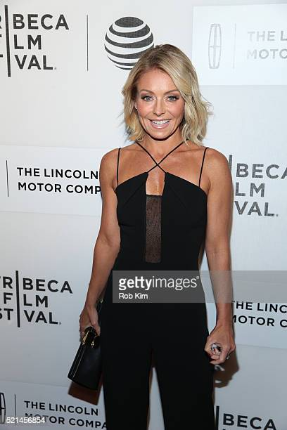 Kelly Ripa attends the premiere of All We Had during the 2016 Tribeca Film Festival at John Zuccotti Theater at BMCC Tribeca Performing Arts Center...