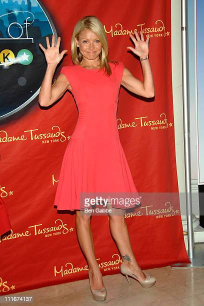 Kelly Ripa Attends The Spirit Of New York Exhibit Opening Kelly Ripa Wax Figure Unveiling At
