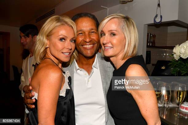 Kelly Ripa Bryant Gumbel and Hilary Quinlan attend Michael Gelman Celebrates The Launch Of CLASS MOM A Novel By Laurie Gelman at Loi Estiatorio on...