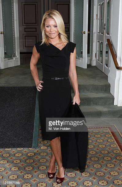 Kelly Ripa during 18th Annual Women of the Year Luncheon at The Pierre in New York City New York United States