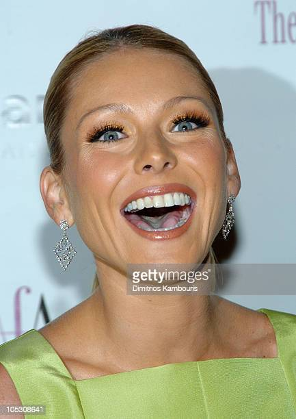 Kelly Ripa during 26th Annual AAfA American Image Awards to Benefit amfAR Arrivals at Grand Hyatt in New York City New York United States