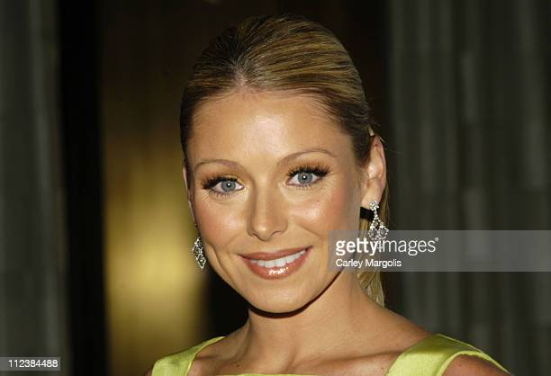 Kelly Ripa during 26th Annual AAfA American Image Awards to Benefit amfAR Arrivals at Grand Hyatt Hotel in New York City New York United States