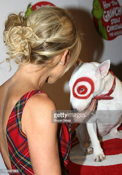 Kelly Ripa during Dr Seuss' How the Grinch Stole Christmas The Musical Broadway Premiere at The Hilton Theater in New York City New York United States