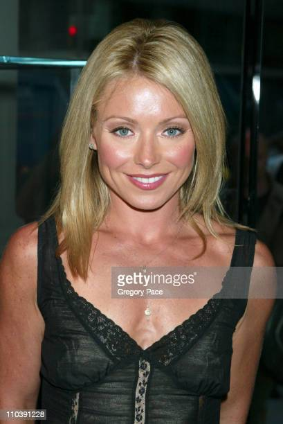 Kelly Ripa during Kelly Ripa Hosts Launch Party for Finola Hughes' Book 'Soapsuds' at Montblanc Global Flagship Boutique in New York City New York...