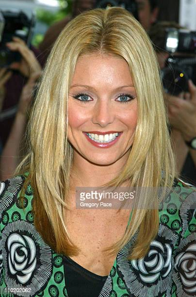 Kelly Ripa during 'Shrek 2' New York Premiere at Beekman Theater in New York City New York United States