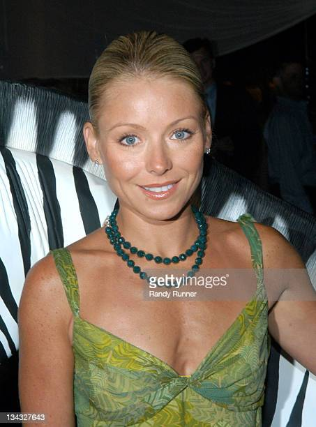 Kelly Ripa during Southampton Hospital's 47th Annual Summer Party Safari Summer in Southampton New York United States