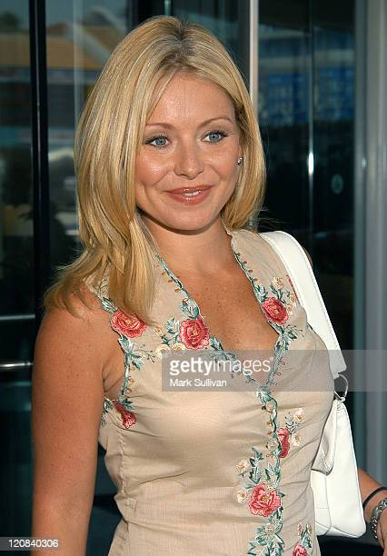 Kelly Ripa during Television Critics Association ABC Arrivals Day One at Renaissance Hotel in Hollywood California United States