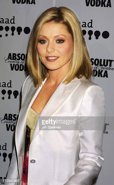 Kelly Ripa during The 13th Annual GLAAD Media Awards - New York - Arrivals at New York Marriott Marquis in New York City, New York, United States.