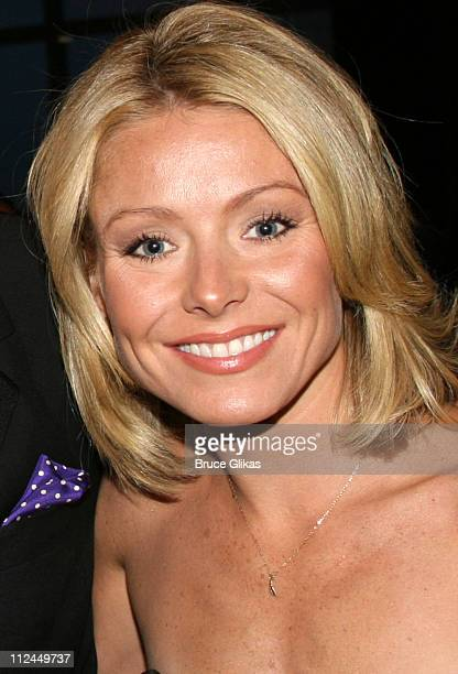 Kelly Ripa during The Mandarin Oriental Hotel at Gilda's Club Annual Gala honors Rosie O'Donnell in New York NY United States