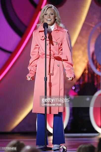 Kelly Ripa host during 5th Annual TV Land Awards Show at Barker Hangar in Santa Monica California United States