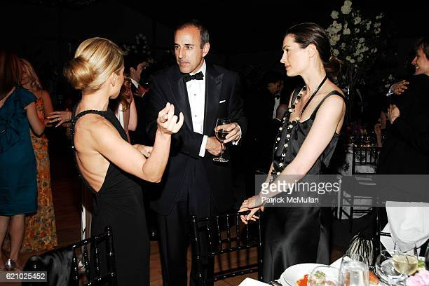 Kelly Ripa Matt Lauer and Annette Roque Lauer attend AMERICAN BALLET THEATRE 68th Annual Spring Gala at Metropolitan Opera House on May 19 2008 in...