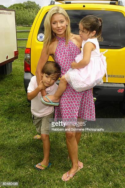 Kelly Ripa son Michael and daughter Lola