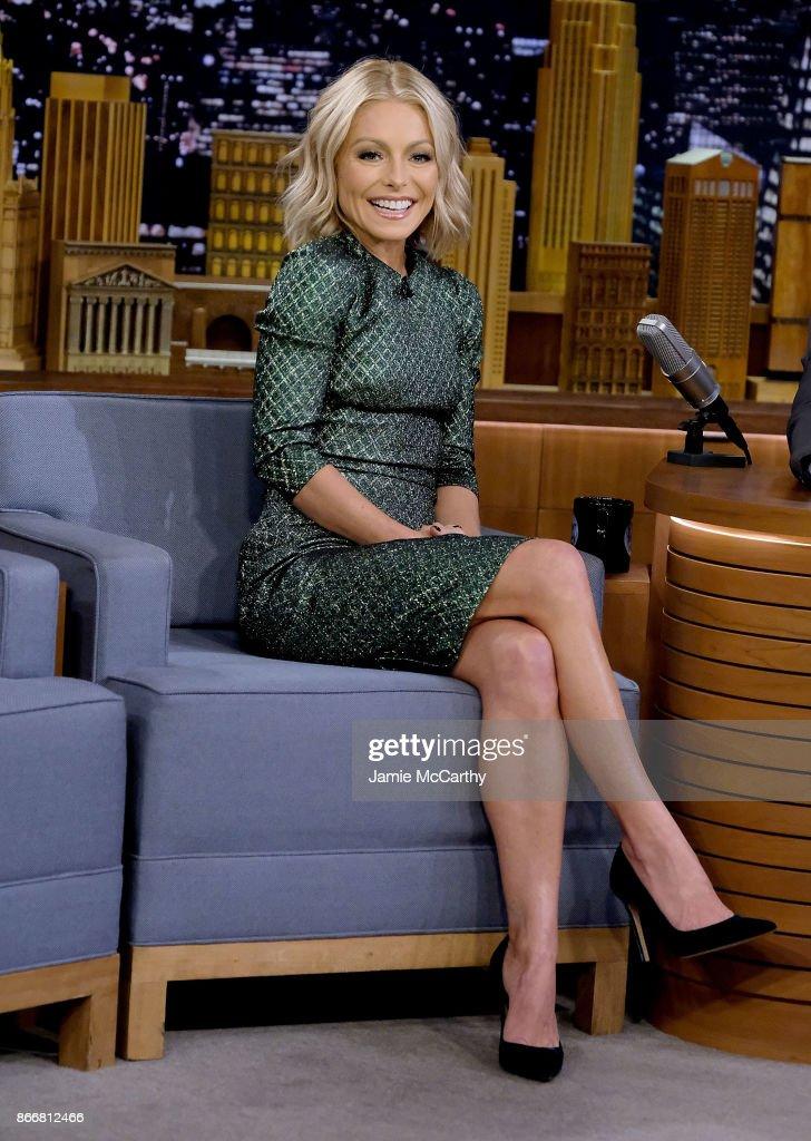 "Kelly Ripa Visits ""The Tonight Show Starring Jimmy Fallon"""