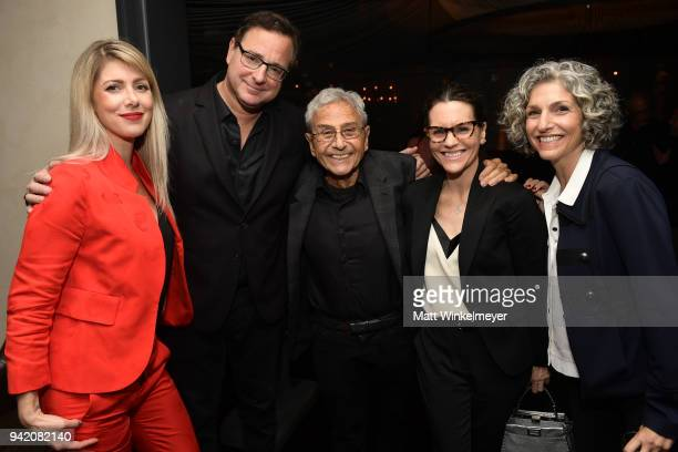 Kelly Rizzo Bob Saget George Shapiro Katie Killean and Cathy Ladman attend the 18th Annual International Beverly Hills Film Festival Benjamin...