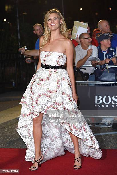 Kelly Rohrbach arrives for the GQ Men Of The Year Awards 2016 at Tate Modern on September 6 2016 in London England