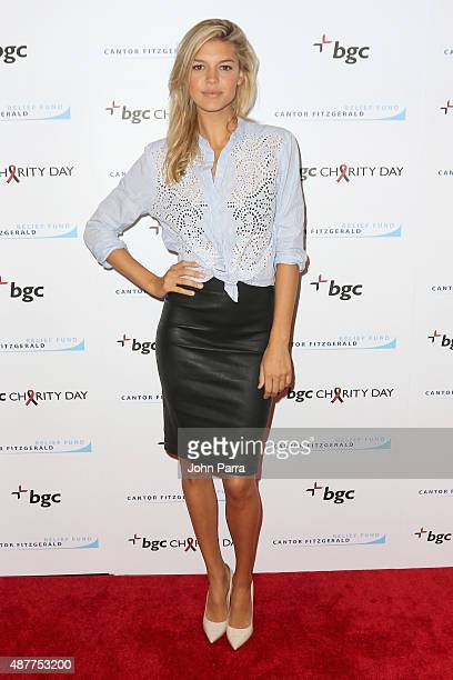 Kelly Rohrbach attends Annual Charity Day hosted by Cantor Fitzgerald and BGC at BGC Partners INC on September 11 2015 in New York City