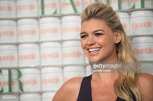 Kelly Rohrbach attends La Mer Celebrates 50 Years of an Icon at Siren Studios on October 13 2015 in Hollywood California