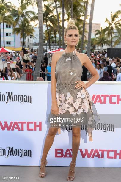 Kelly Rohrbach attends Paramount Pictures' World Premiere of 'Baywatch' on May 13 2017 in Miami Florida