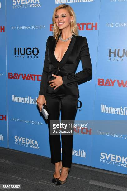 Kelly Rohrbach attends The Cinema Society's Screening Of 'Baywatch' at Landmark Sunshine Cinema on May 22 2017 in New York City