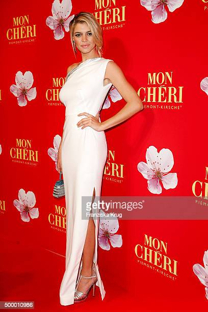 Kelly Rohrbach attends the Mon Cheri Barbara Tag 2015 at Postpalast on December 4 2015 in Munich Germany