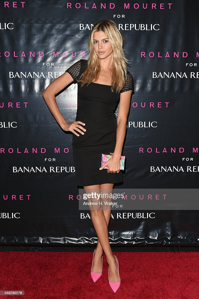 Kelly Rohrbach attends the Roland Mouret for Banana Republic Collection Launch on August 5, 2014 at White Street Restaurant in New York City.