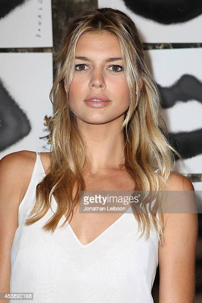 Kelly Rohrbach attends the VIOLET GREY Cassandra Huysentruyt Grey Host Artist In Residence Donald Robertson on August 20 2014 in Los Angeles...