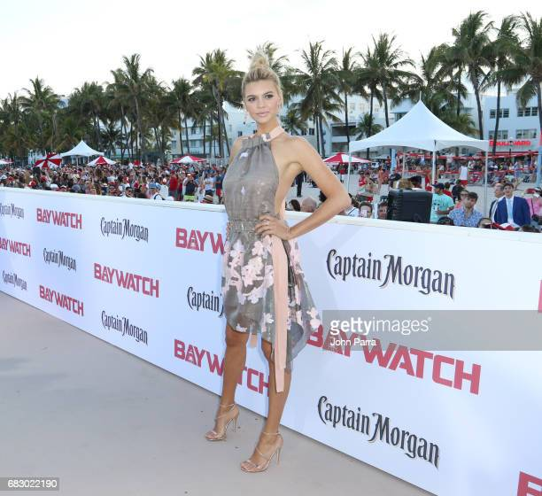 Kelly Rohrbach attends the world premiere of Paramount Pictures film 'Baywatch' at South Beach on May 13 2017 in Miami Florida