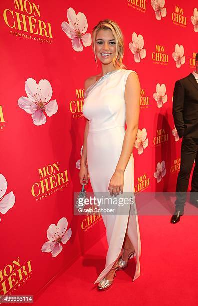 Kelly Rohrbach girlfriend of Leonardo DiCaprio attends the Mon Cheri Barbara Tag 2015 at Postpalast on December 4 2015 in Munich Germany