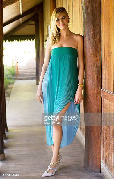 Kelly Rohrbach poses for a portrait session at the 2016 Maui Film Festival on June 6 2015 in Wailea Hawaii