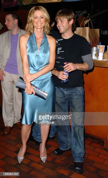 Kelly Rowan and Benjamin McKenzie in Backstage Creations Talent Retreat