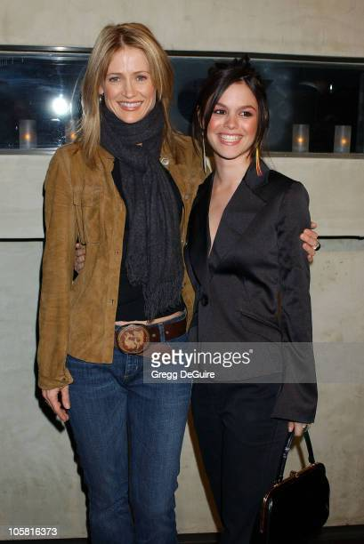 Kelly Rowan and Rachel Bilson during 2004 Fox Broadcasting Network Prime Time Lineup Party Arrivals at Dolce Restaurant in Los Angeles California...