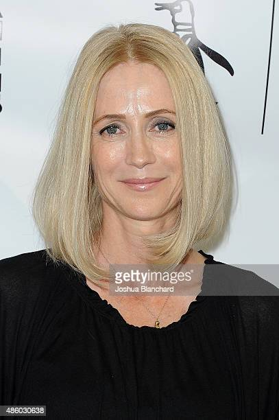 Kelly Rowan attends the Unauthorized OC Musical One Night Only Event presented by Original Penguin at The Montalban on August 30 2015 in Hollywood...