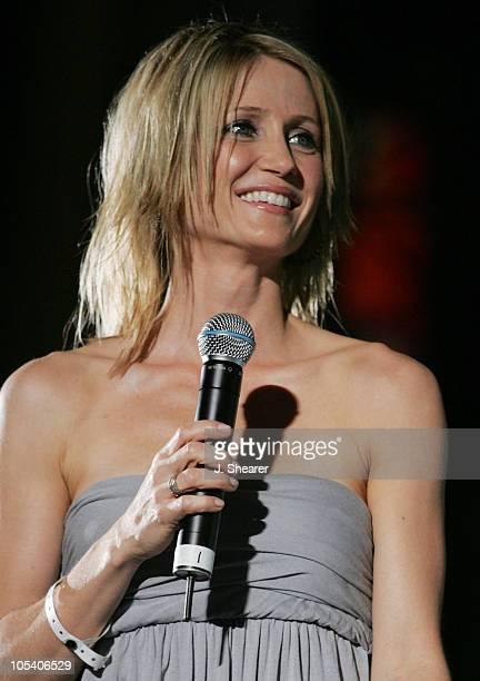 Kelly Rowan during 1027 KIISFM's Wango Tango OnAir Concert 2004 at Rose Bowl in Pasadena California United States
