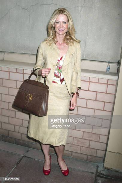 Kelly Rowan during 2005/2006 FOX Prime Time UpFront Inside Green Room and Party at Seppi's Restaurant and Central Park Boathouse in New York City New...