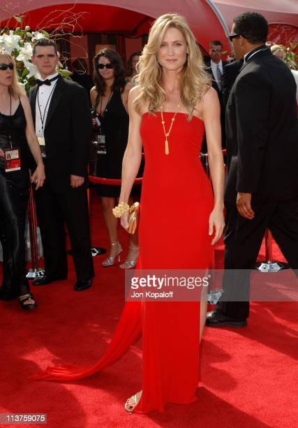 Kelly Rowan during 57th Annual Primetime Emmy Awards Arrivals at The Shrine in Los Angeles California United States