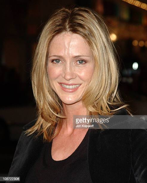 Kelly Rowan during Constantine Los Angeles Premiere Arrivals at Grauman's Chinese Theater in Hollywood California United States