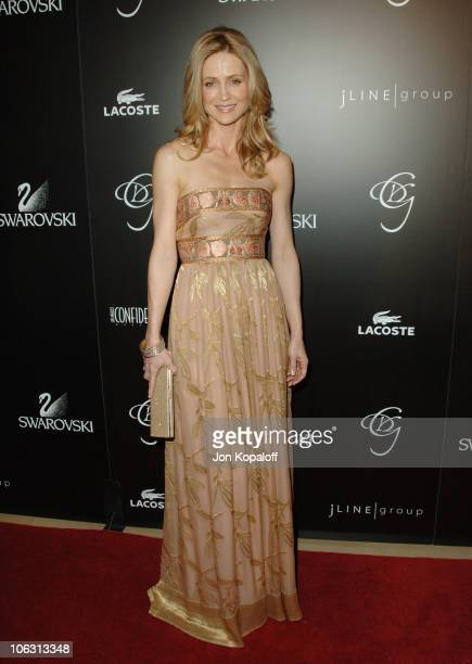 Kelly Rowan during Eighth Annual Costume Designers Guild Awards Gala Arrivals at Beverly Hilton Hotel in Beverly Hills California United States