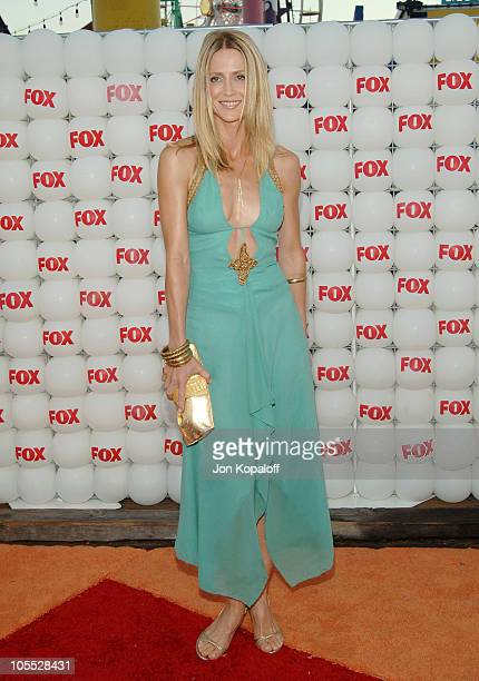 Kelly Rowan during FOX Summer 2005 AllStar Party Arrivals at Santa Monica Pier in Santa Monica California United States
