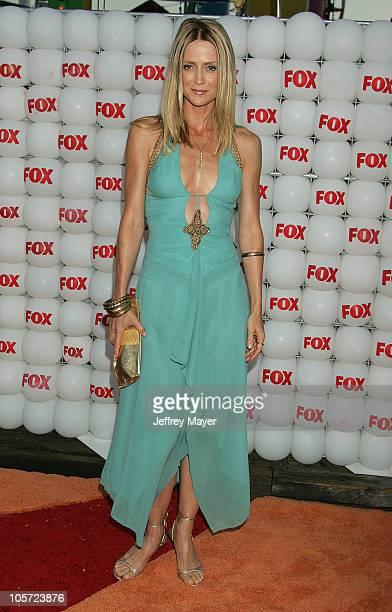 Kelly Rowan during FOX Summer 2005 AllStar Party Arrivals at Santa Monica Pier in Santa Monica California United States