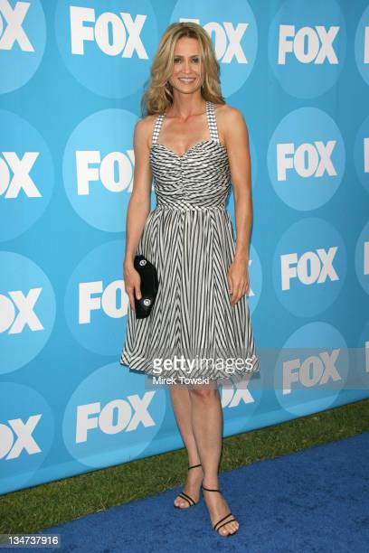 Kelly Rowan during FOX TCA Party Red Carpet at Ritz Carlton Huntington Hotel in New York City New York United States