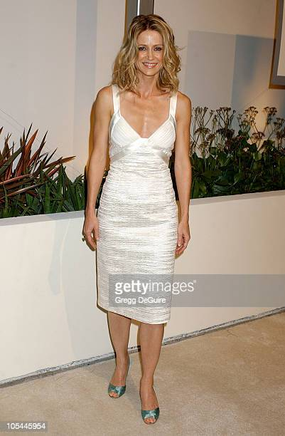 Kelly Rowan during Fox TV White Hot Winter Network Party at Meson G Restaurant in Los Angeles California United States