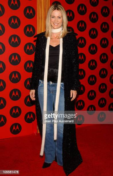 Kelly Rowan during Motorola's 6th Anniversary Party Benefiting Toys for Tots Arrivals at Music Box Theatre in Hollywood California United States