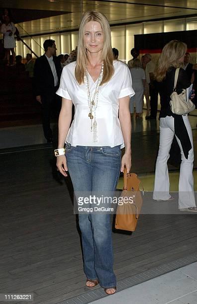 Kelly Rowan during Prada Celebrates the Los Angeles Opening of Waist Down Skirts By Miuccia Prada at Prada in Hollywood California United States