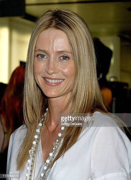 Kelly Rowan during Prada Celebrates the Los Angeles Opening of Waist Down Skirts By Miuccia Prada at Prada in Hollywood California United States