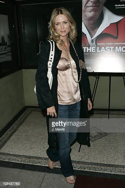 Kelly Rowan during The Last Mogul Los Angeles Premiere at The Silent Movie Theatre in Hollywood California United States