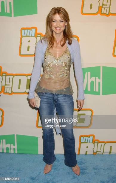 Kelly Rowan during VH1 Big In '03 Arrivals at Universal Amphitheater in Universal City California United States